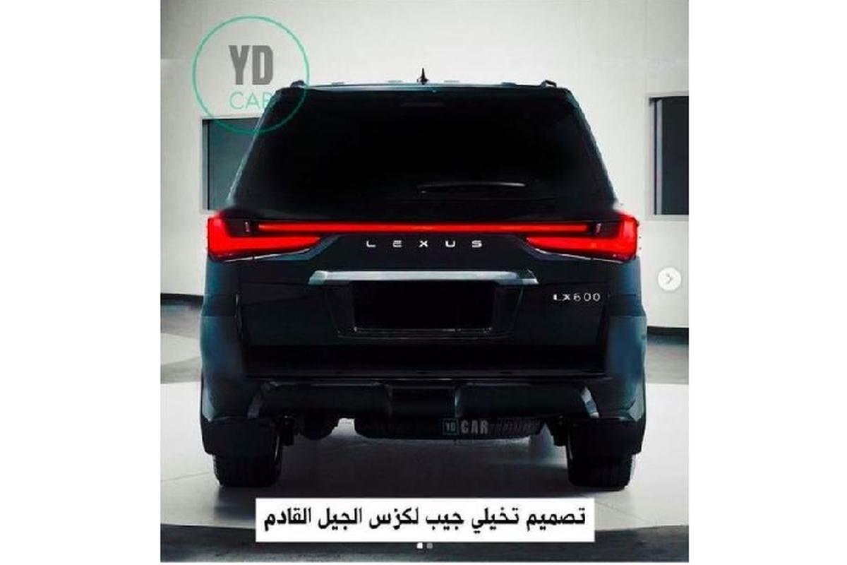 """Lexus LX600 2022 lo dien - """"chuyen co mat dat"""" cho gioi nha giau-Hinh-3"""