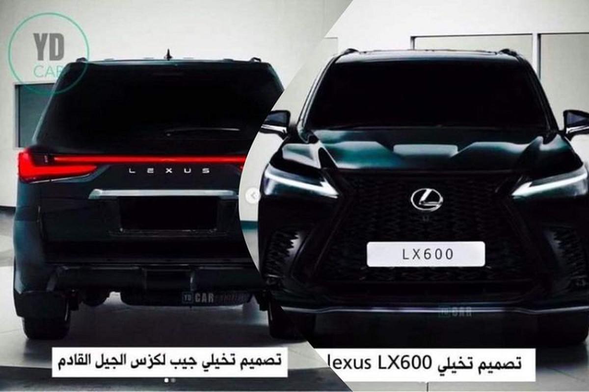 """Lexus LX600 2022 lo dien - """"chuyen co mat dat"""" cho gioi nha giau"""
