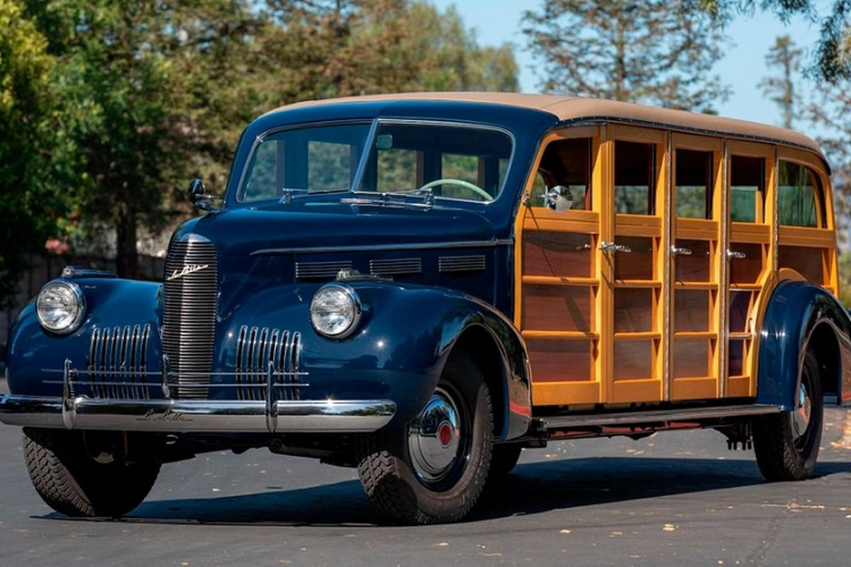 LaSalle Meteor 1940 - limousine 8 cua vo go doc nhat tren doi