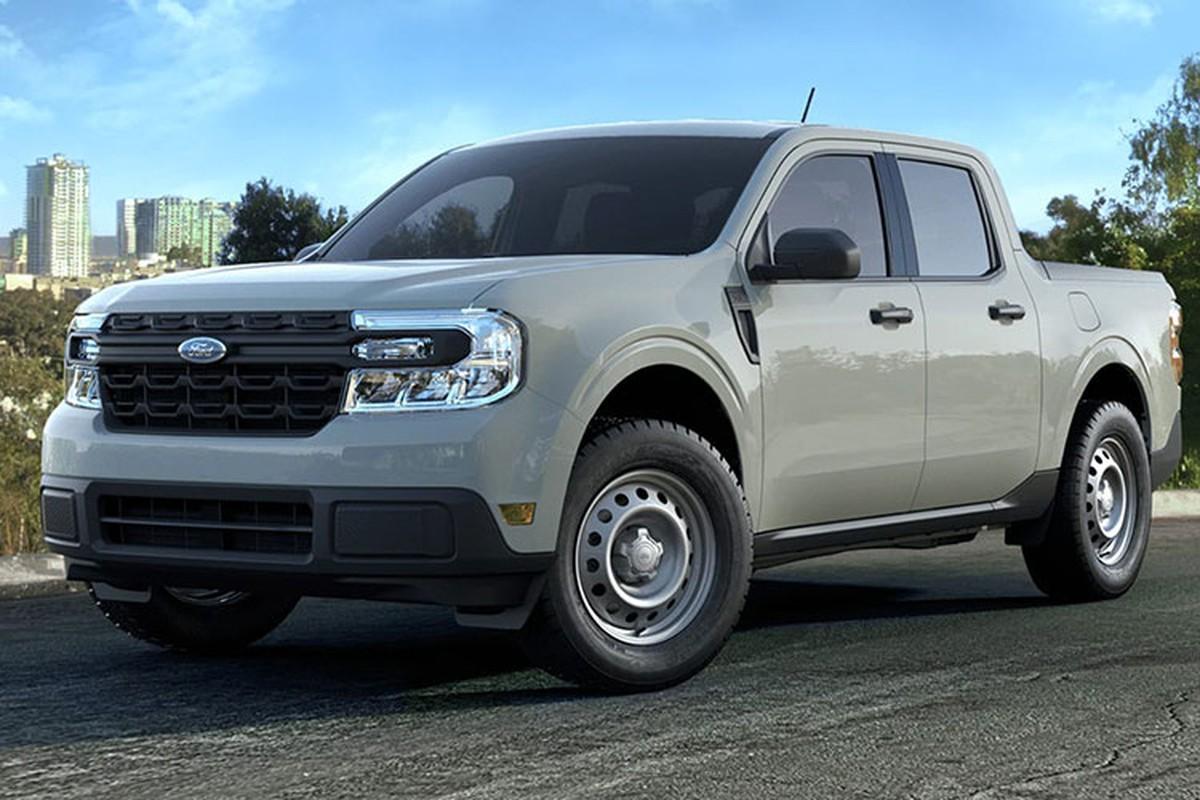 Can canh Ford Maverick XL 2022 tieu chuan chi 460 trieu dong