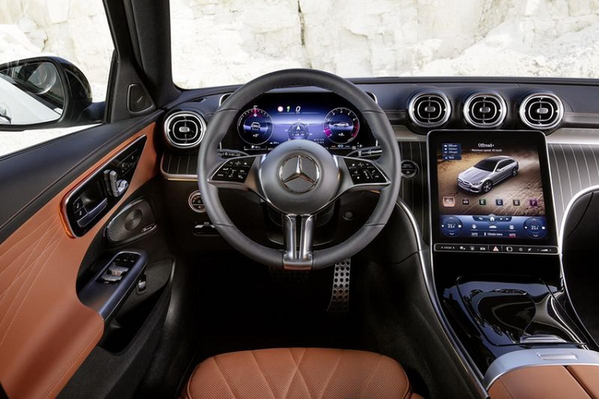 Mercedes-Benz C-Class All Terrain 2022 - xe wagon san sang off-road-Hinh-5