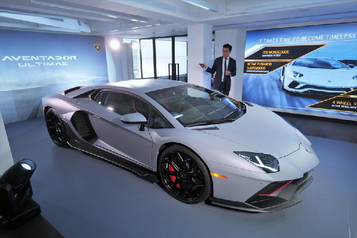 Lamborghini Aventador LP780-4 Ultimae 24 ty cho dai gia Hong Kong
