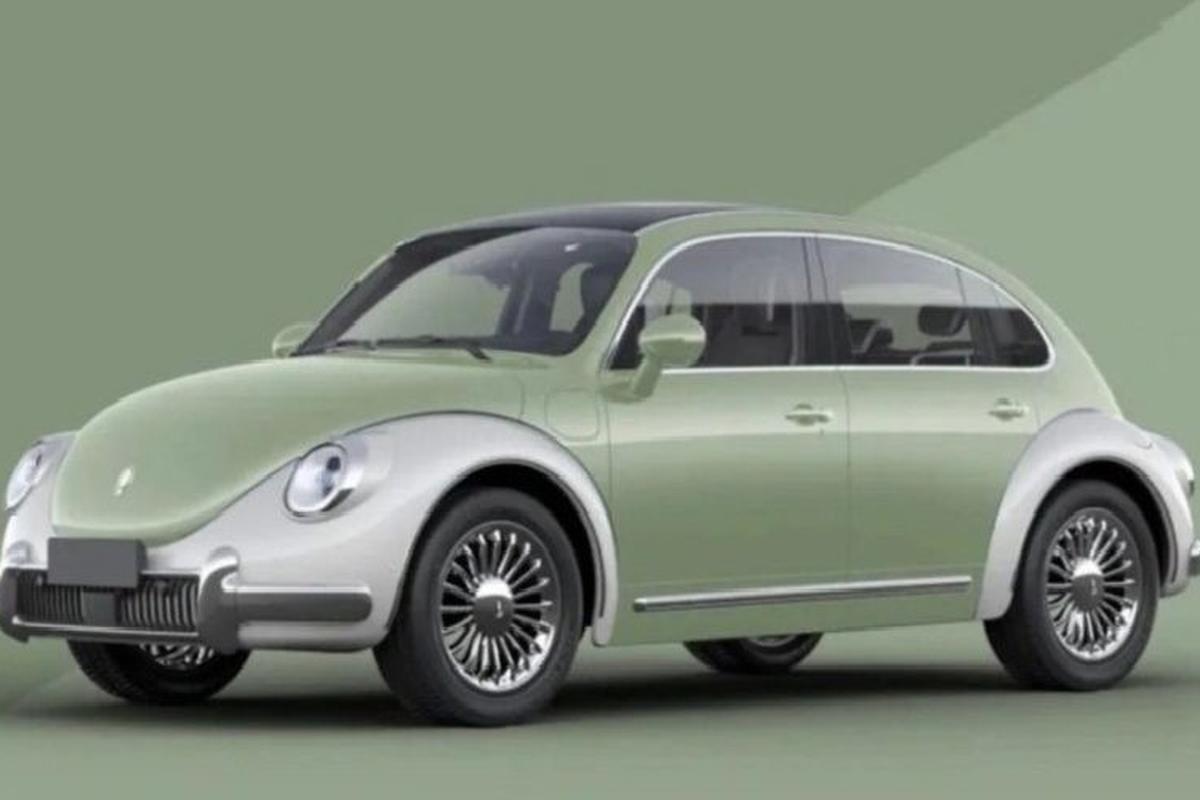 "ORA Punk Cat cua Trung Quoc ""nhai"" Volkswagen Beetle nhu xe xin-Hinh-2"