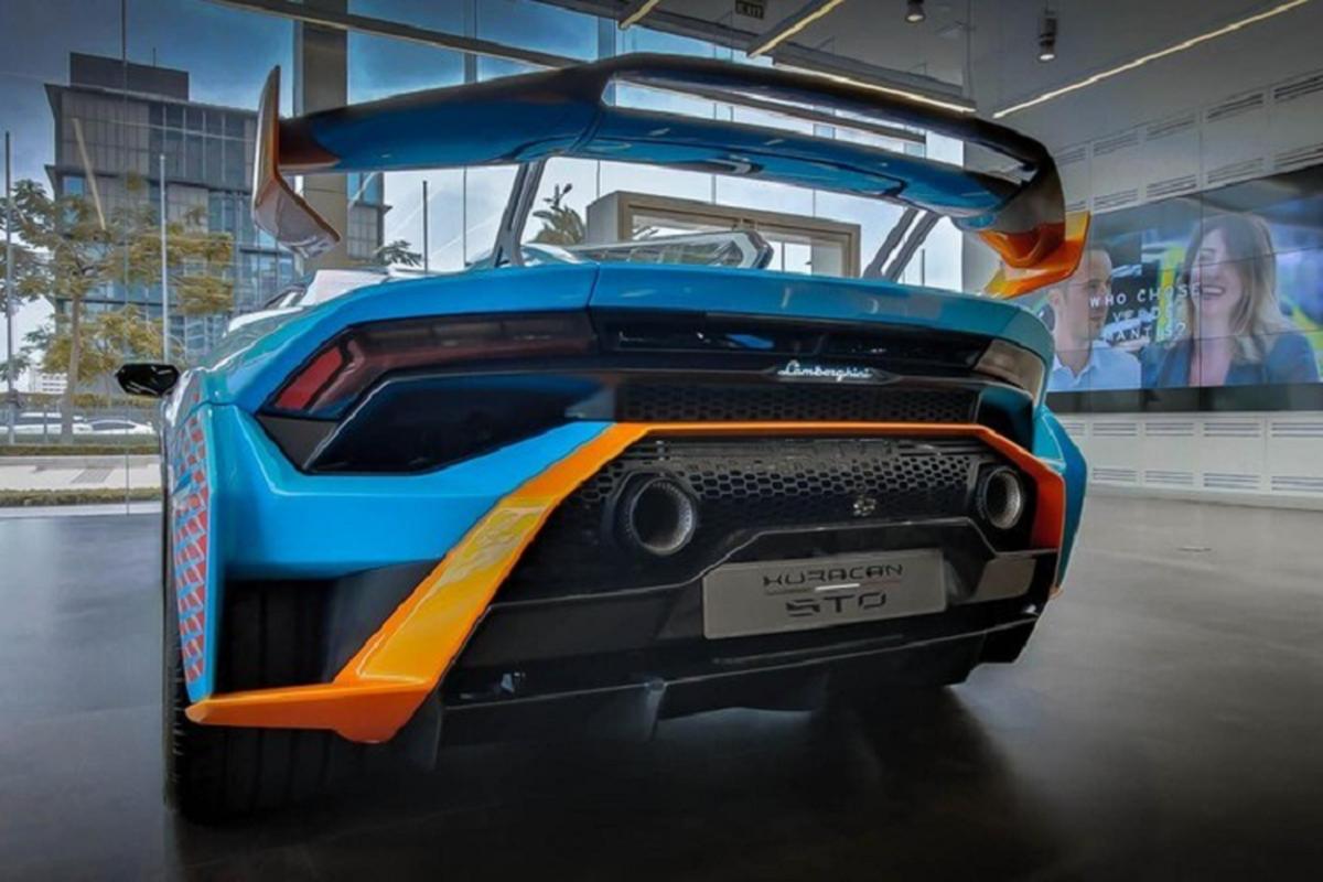"Lamborghini Huracan STO ve den Campuchia, dai gia Viet ""phat them""-Hinh-6"