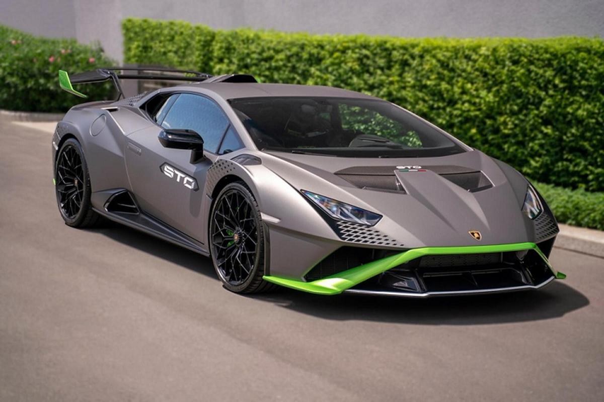 "Lamborghini Huracan STO ve den Campuchia, dai gia Viet ""phat them"""