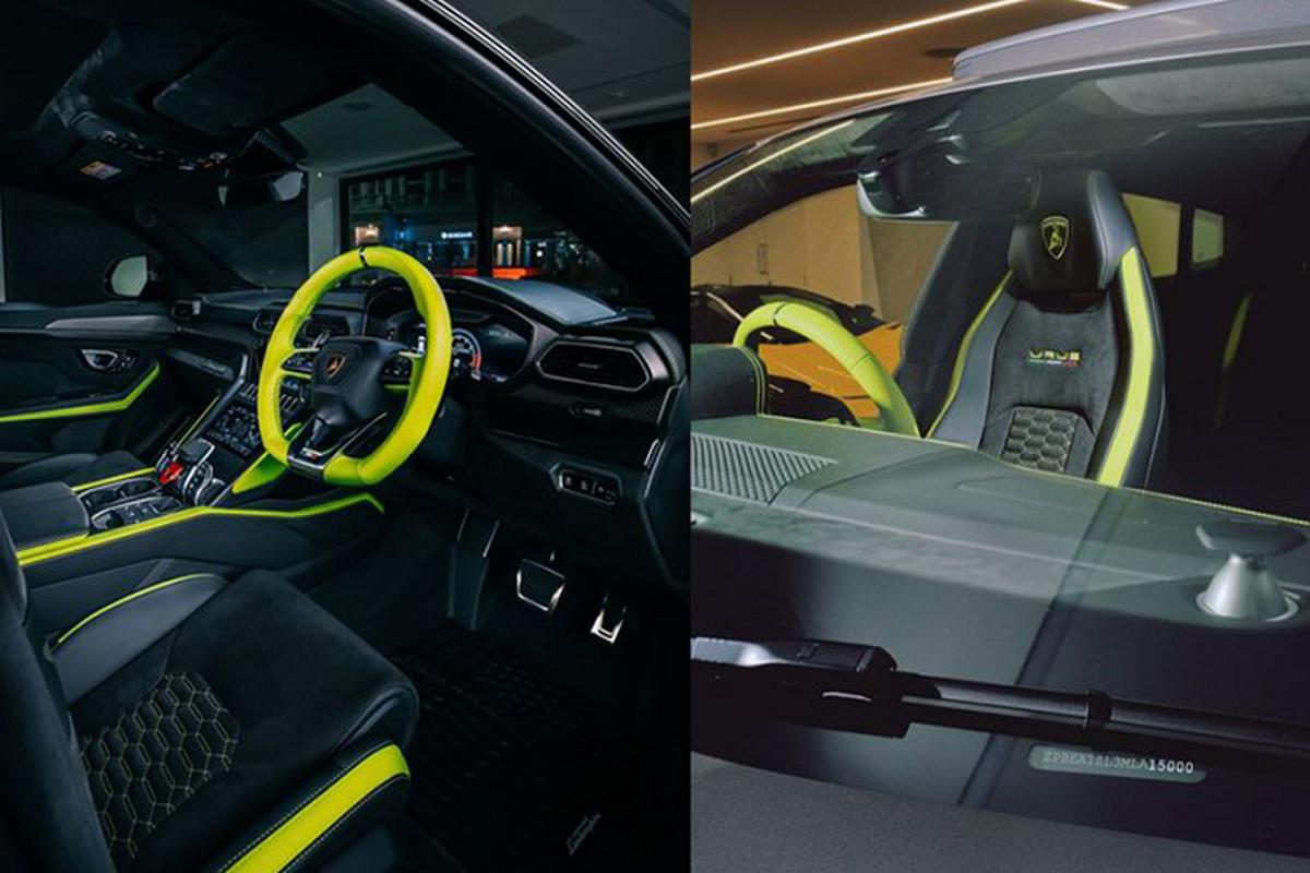 Sieu SUV Lamborghini Urus thu 15.000 duoc phoi mau dac biet-Hinh-4