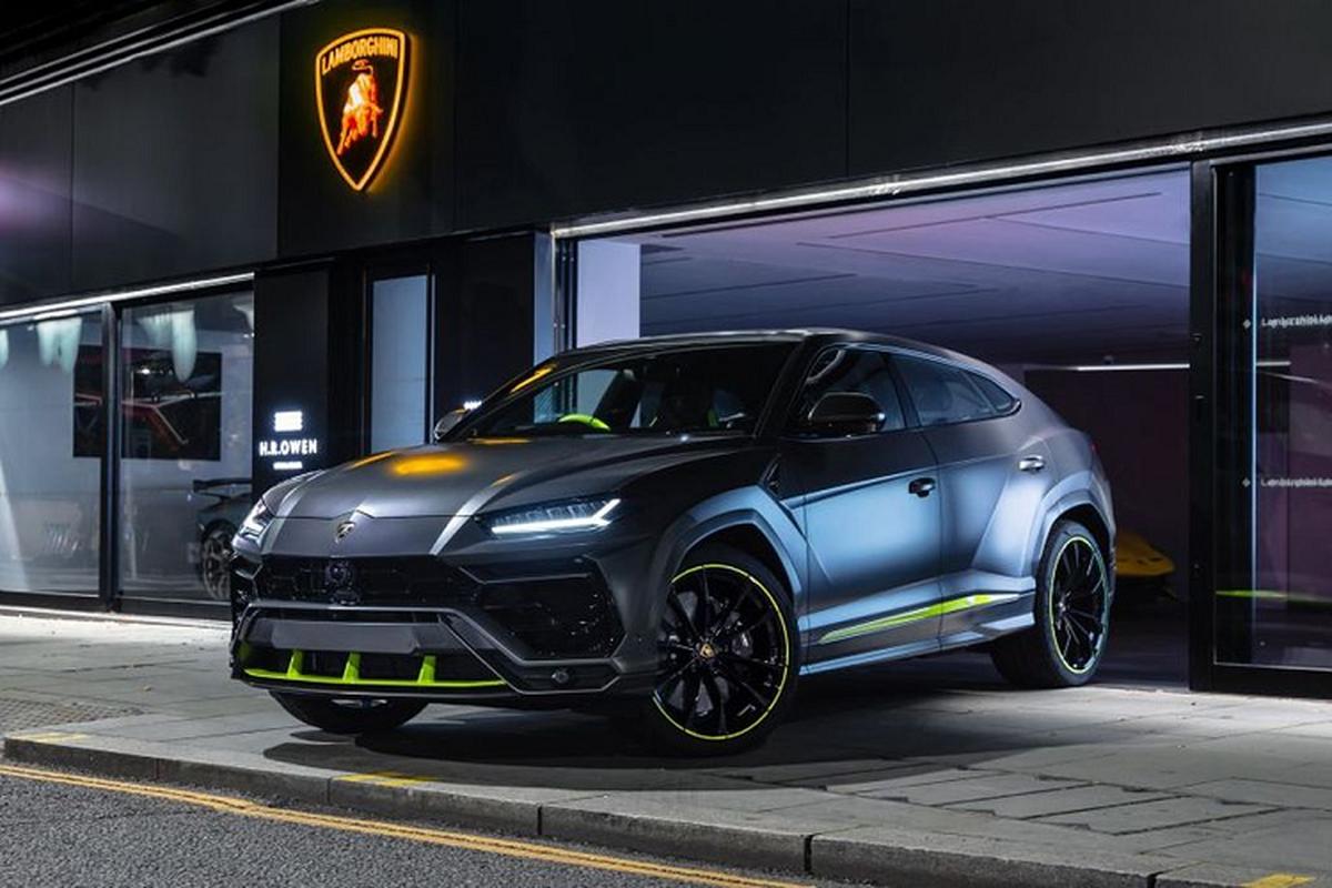 Sieu SUV Lamborghini Urus thu 15.000 duoc phoi mau dac biet