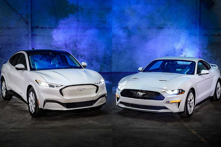 """Ford Mustang Ice White Edition """"bach cong tu"""