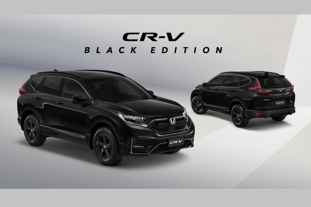 Honda CR-V Black Edition 5 cho lac hau, van hon 1 ty dong
