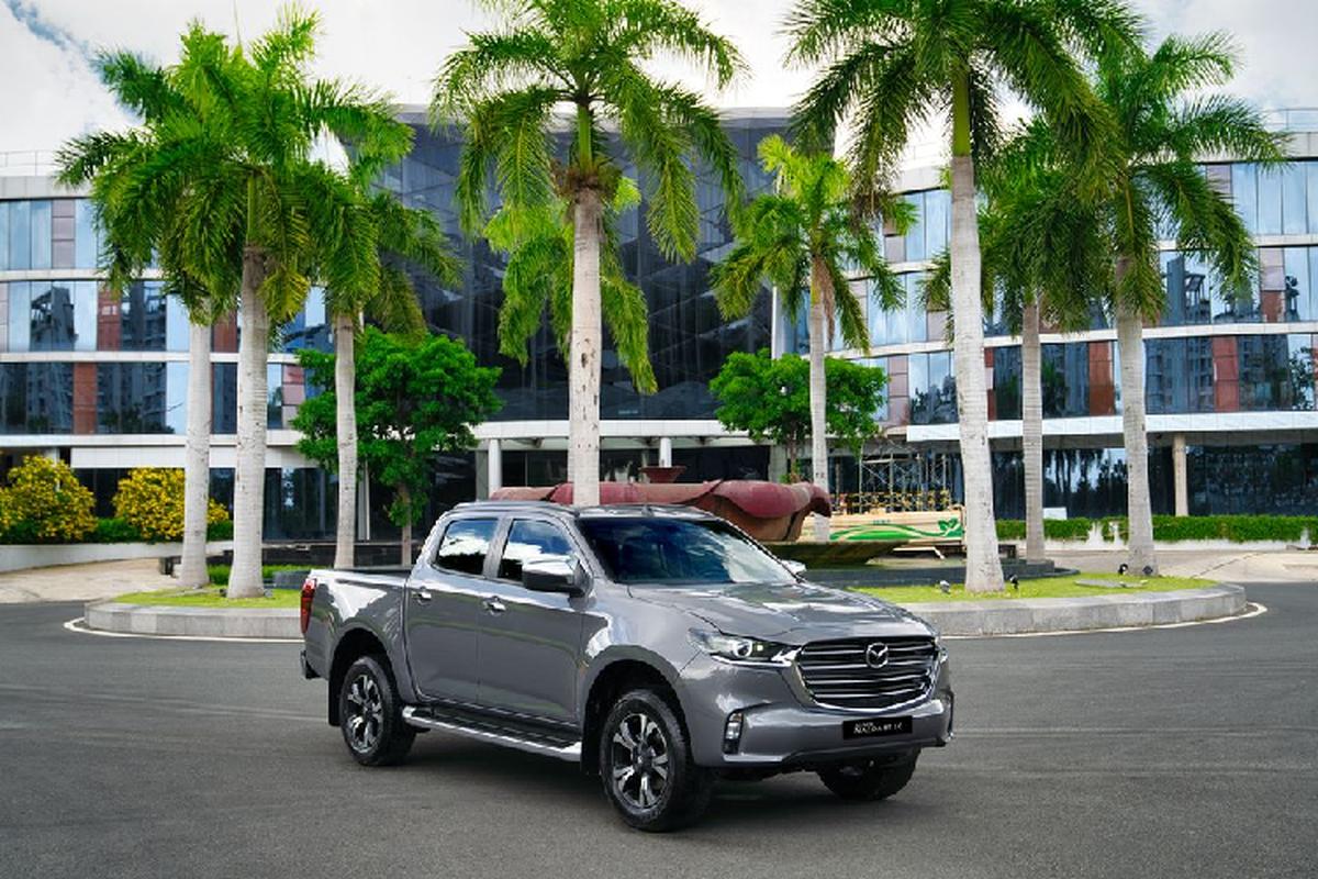 Can canh Mazda BT-50 2021 tai Viet Nam, khoi diem 659 trieu dong