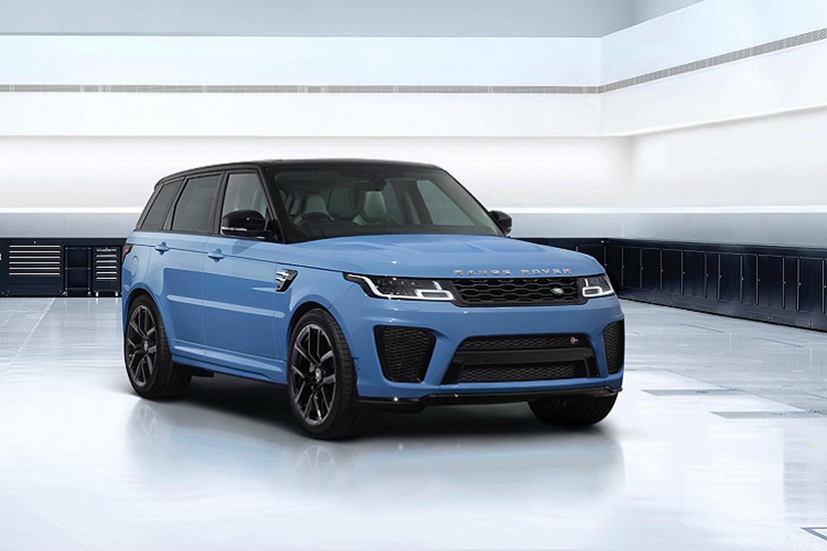 Range Rover Sport SVR Ultimate them tuy chon son vay thuy tinh