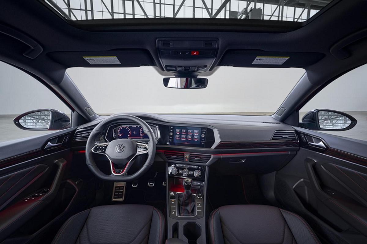 Volkswagen Jetta 2022 lot xac nhung gi de canh tranh Toyota Altis-Hinh-6