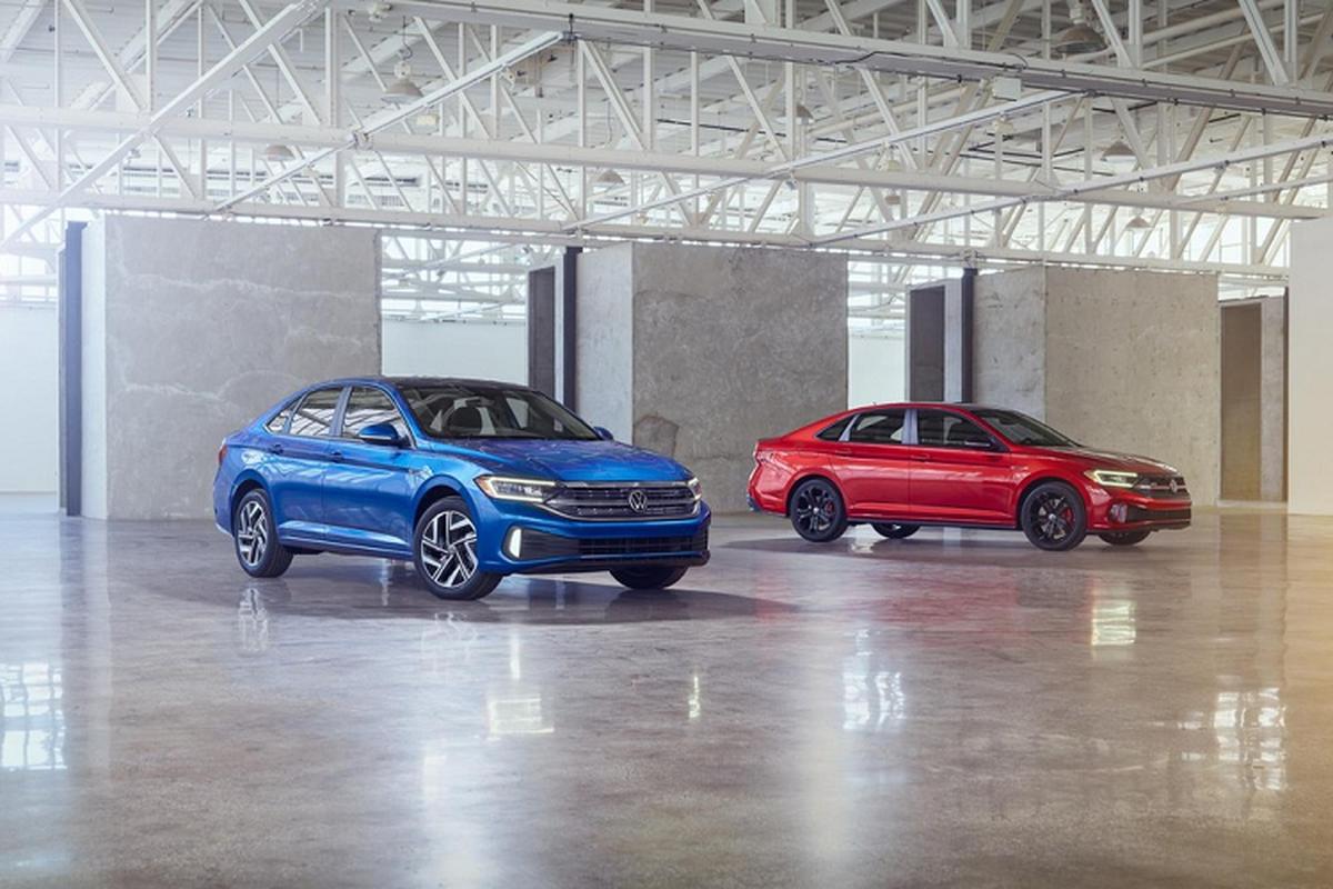 Volkswagen Jetta 2022 lot xac nhung gi de canh tranh Toyota Altis