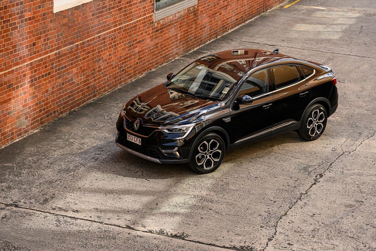 Renault Arkana 2022 the he moi chao hang thi truong Australia