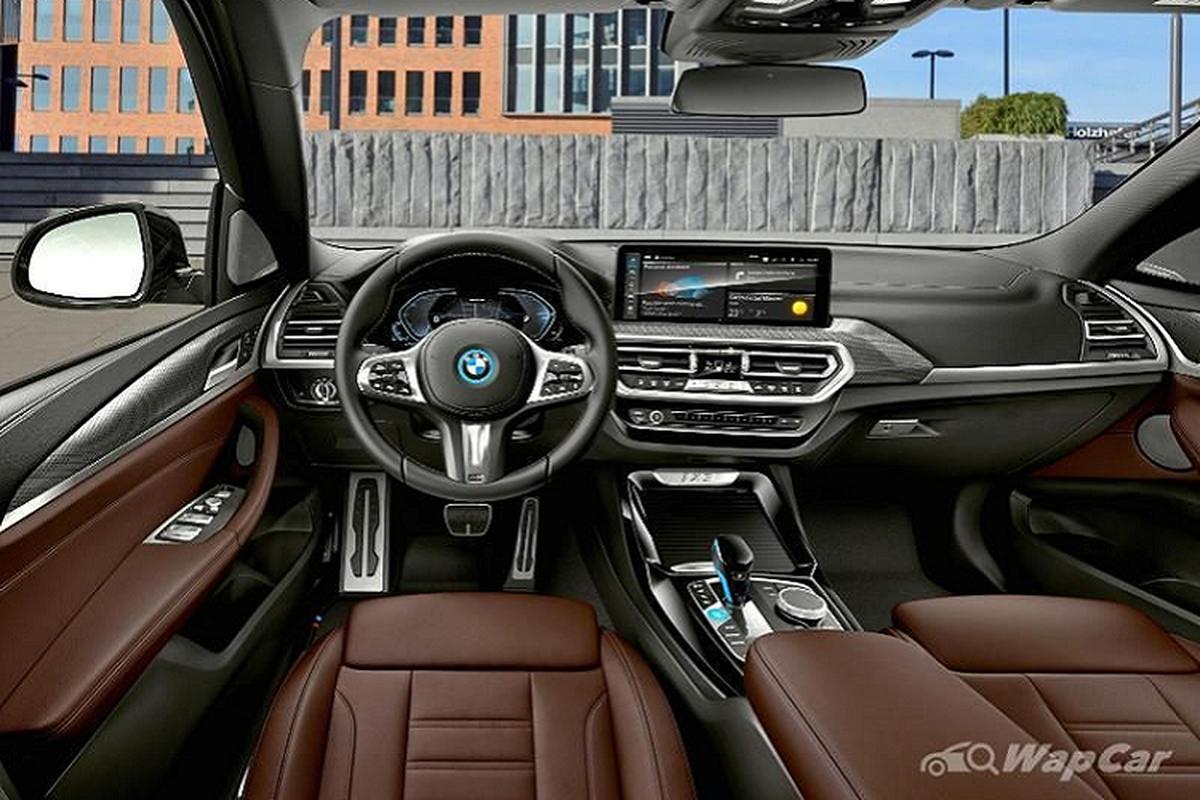 BMW iX3 2021 - SUV dien chay 460 km/mot lan sac den Mlaysia-Hinh-4