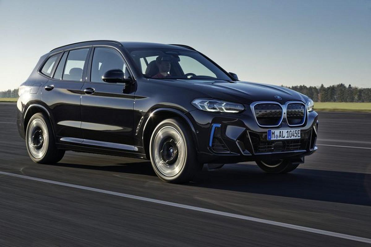 BMW iX3 2021 - SUV dien chay 460 km/mot lan sac den Mlaysia