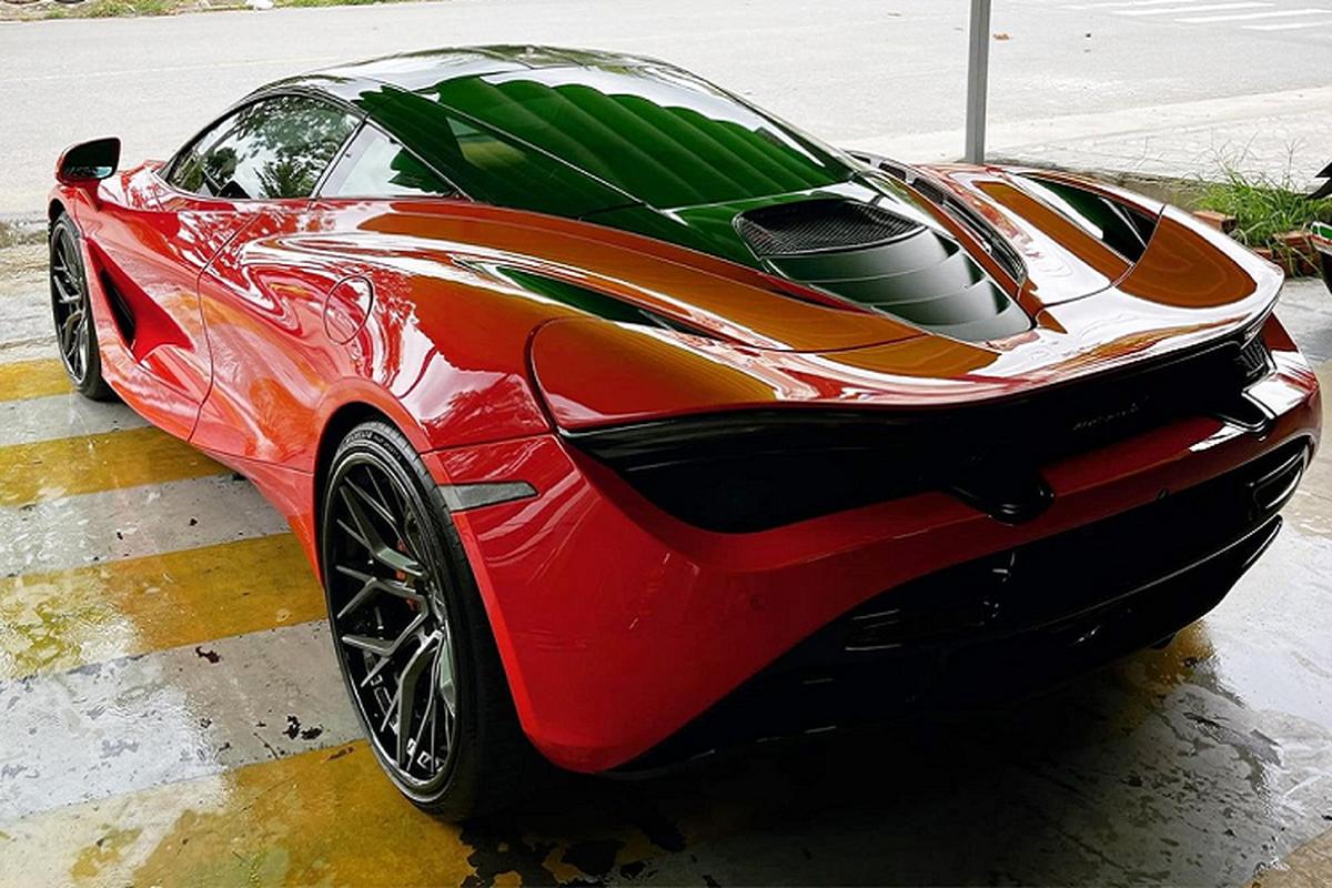 McLaren 720S hon 20 ty duoc dai gia Sai Gon