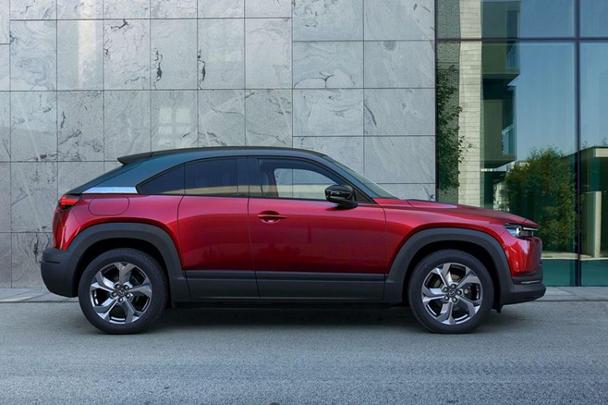 Mazda MX-30 thuan dien, chot gia 760 trieu dong tai My-Hinh-3
