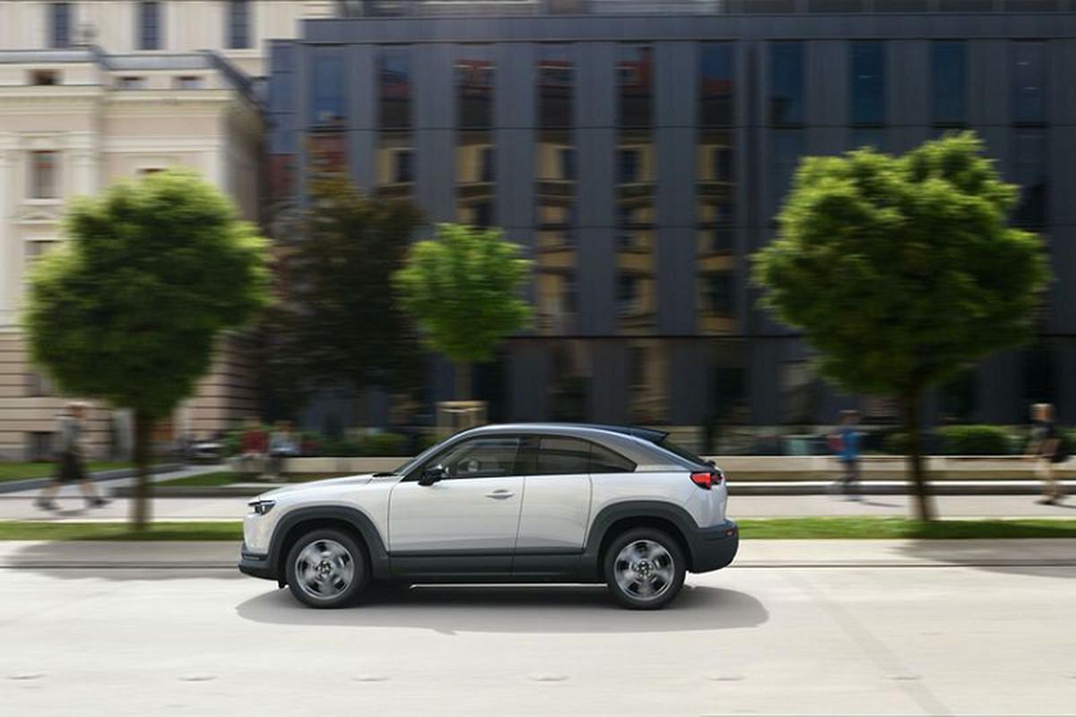 Mazda MX-30 thuan dien, chot gia 760 trieu dong tai My-Hinh-7