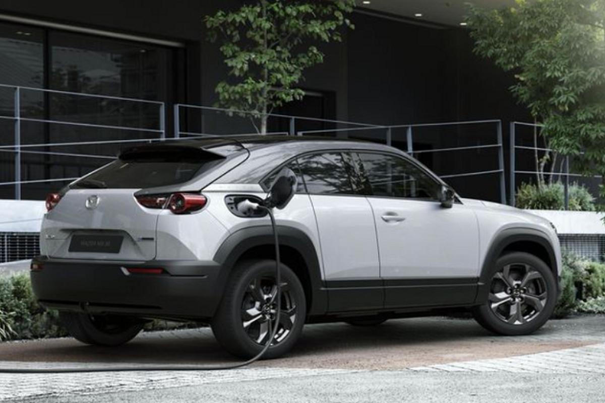 Mazda MX-30 thuan dien, chot gia 760 trieu dong tai My-Hinh-9