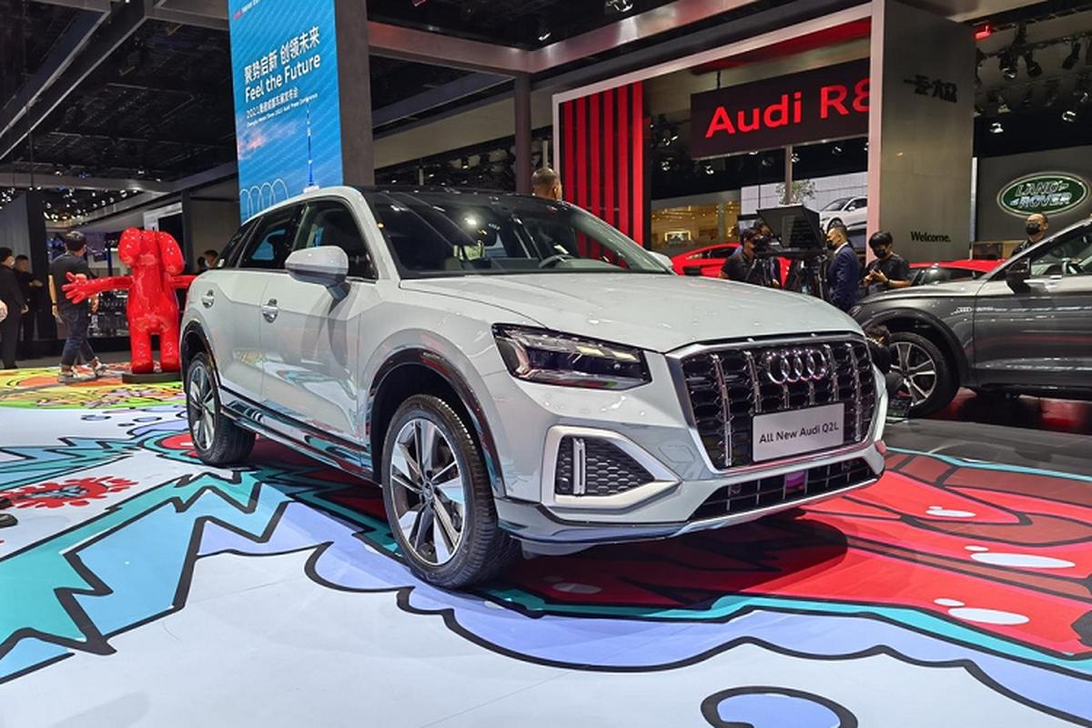 Audi Q2L 2022 phien ban dac biet cua sao tre Vuong Nhat Bac