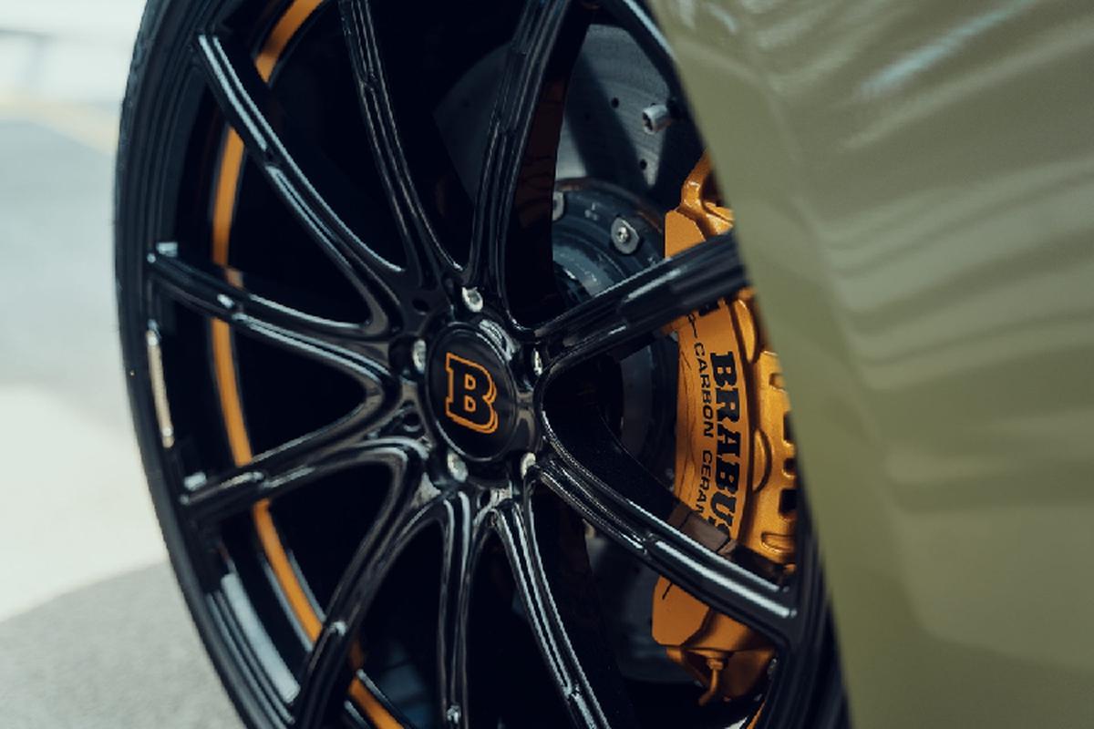 Ngam Mercedes-AMG GT 63 S ham ho, manh 800 ma luc nho Brabus-Hinh-2