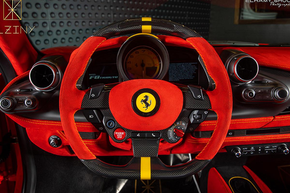 Ferrari F8 Tributo Modena Italy - sieu xe doc nhat the gioi-Hinh-9