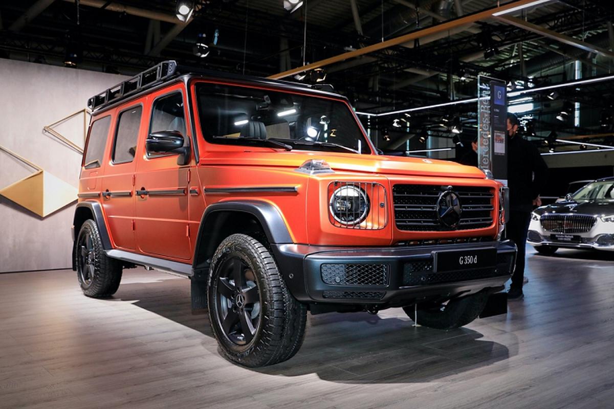 Mercedes-Benz G-Class 2022 moi duoc nang cap nhung gi?