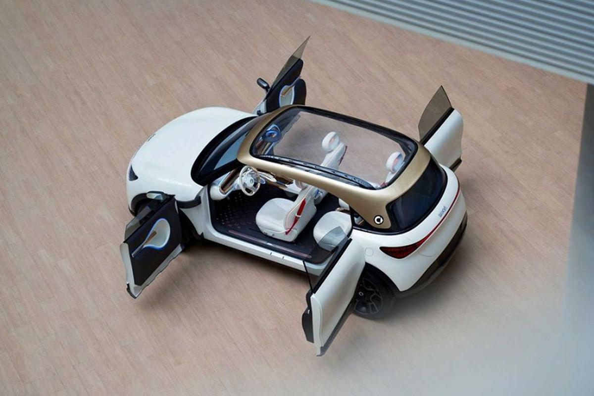 Smart Concept #1 - chiec crossover dien nho xinh