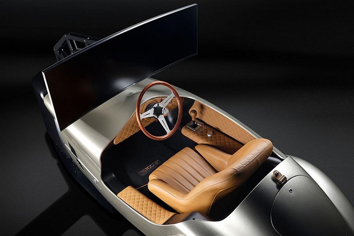 Pininfarina Leggenda Simulator, mo hinh xe dat hon Porsche Taycan-Hinh-4