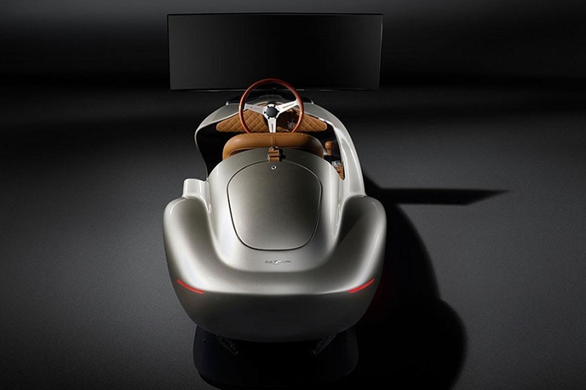 Pininfarina Leggenda Simulator, mo hinh xe dat hon Porsche Taycan-Hinh-7