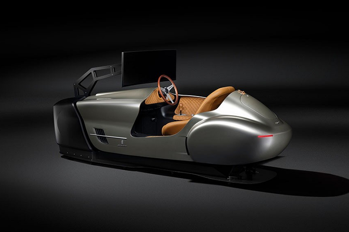 Pininfarina Leggenda Simulator, mo hinh xe dat hon Porsche Taycan