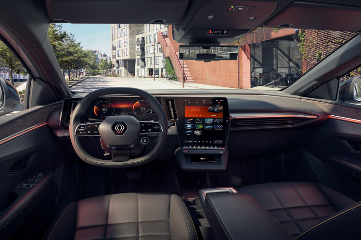 Renault Megane E-Tech 2022 - Crossover chay dien dam ca tinh-Hinh-8