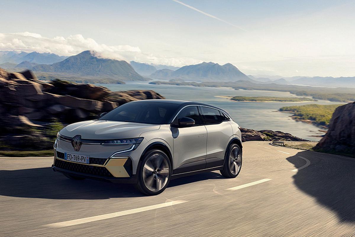 Renault Megane E-Tech 2022 - Crossover chay dien dam ca tinh