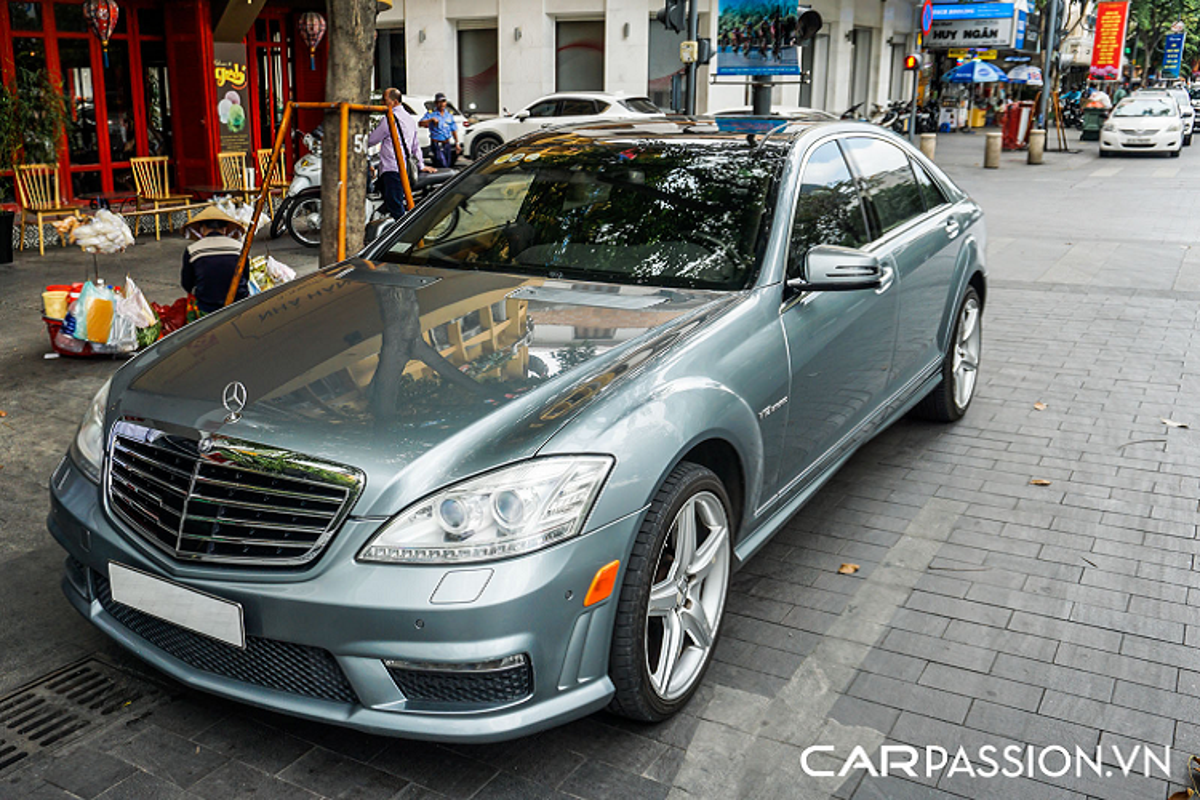 Mercedes-Benz S65 AMG W221 - sedan nhanh nhat toi 16 ty o Sai Gon-Hinh-4