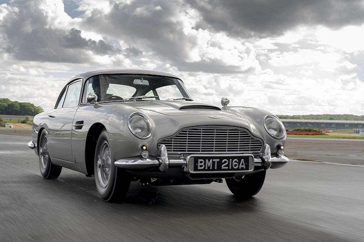 "Aston Martin DB5 ""cua"" James Bond sau 25 nam toi 547 ty dong-Hinh-5"