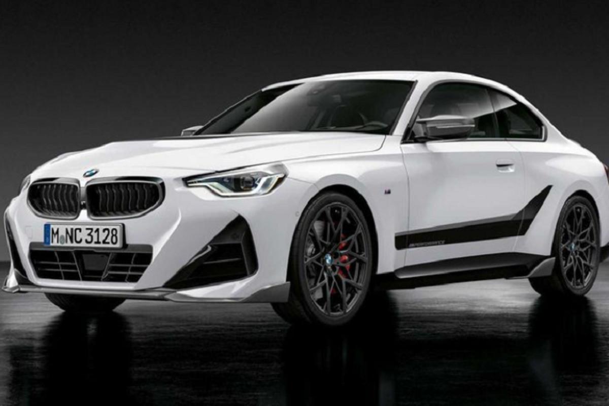 BMW 2-Series Coupe 2022 tang suc hap dan voi M Performance