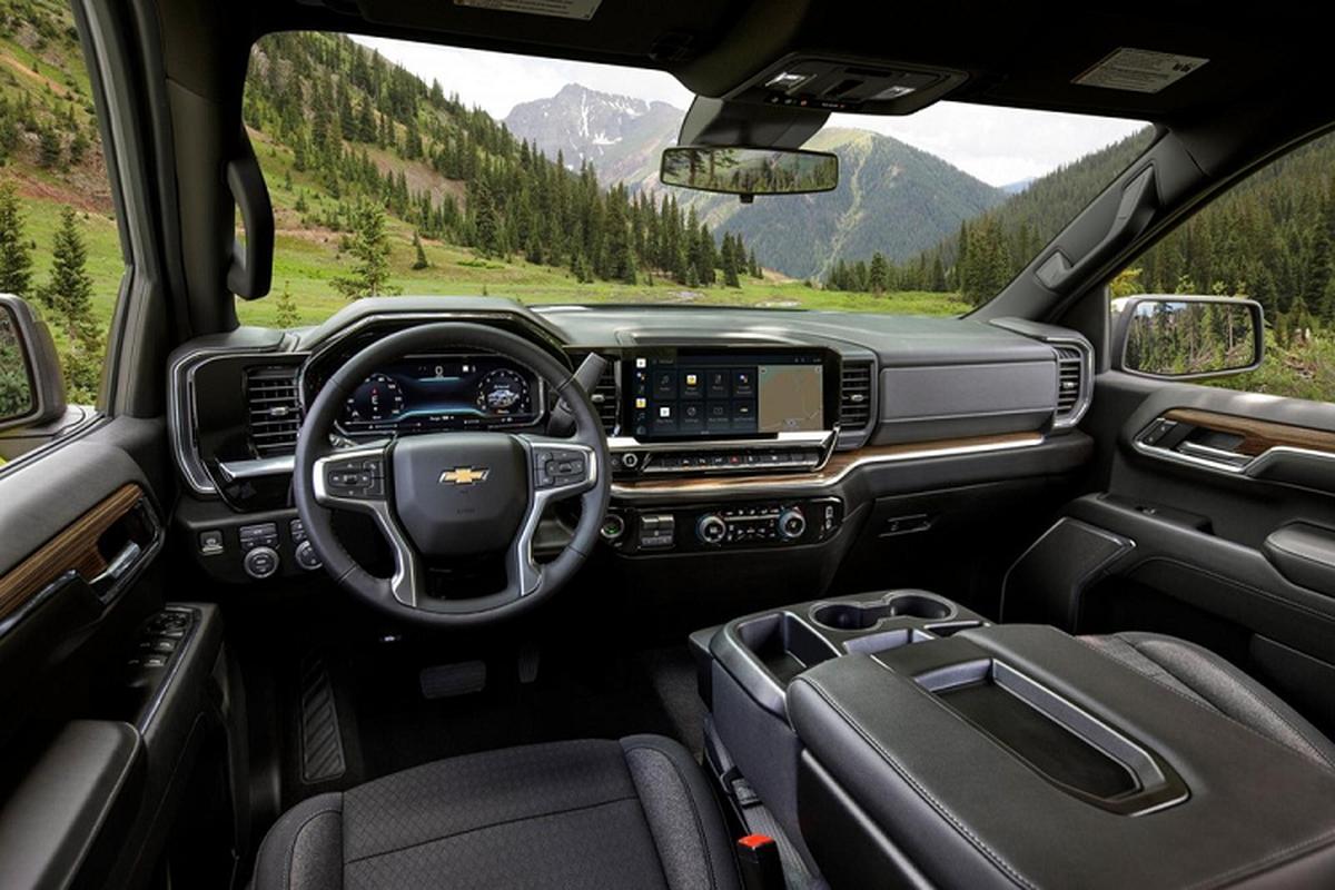 Chevrolet Silverado 1500 2022 - ban tai dia hinh co the tu lai-Hinh-4