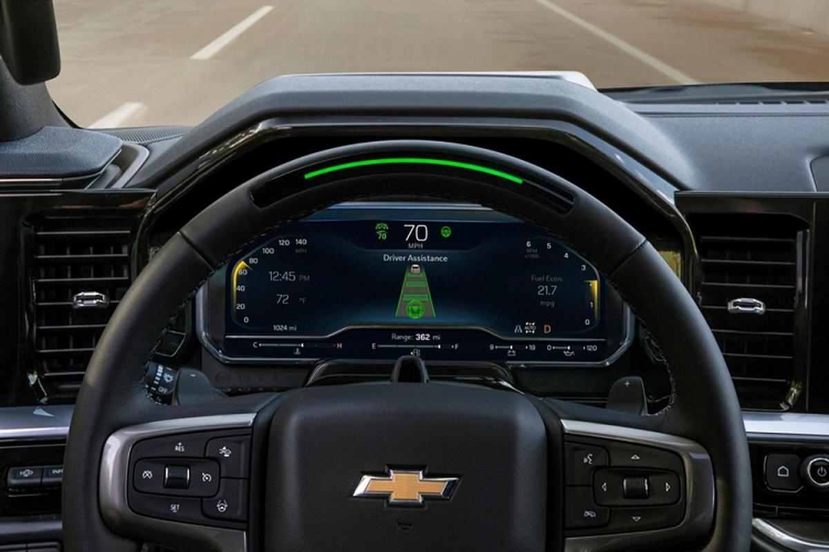 Chevrolet Silverado 1500 2022 - ban tai dia hinh co the tu lai-Hinh-6