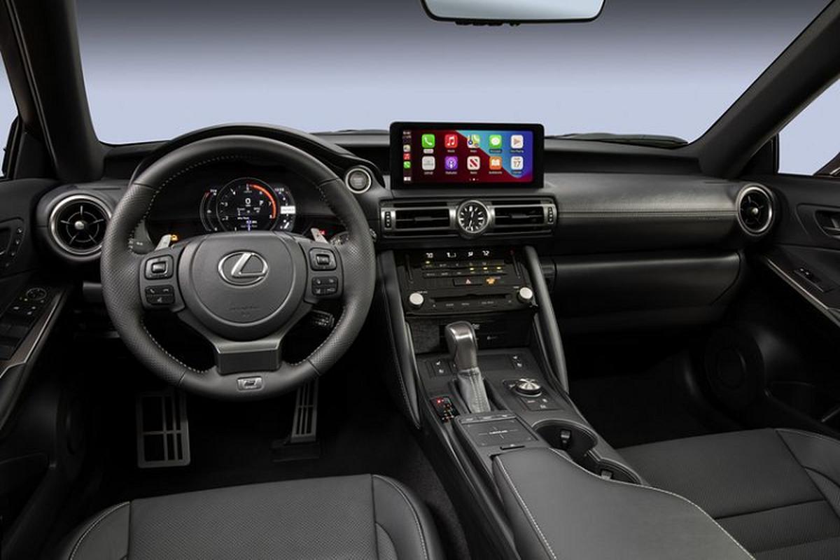 Lexus IS 500 F Sport Performance tu 1,28 ty dong, re hon BMW M3-Hinh-2