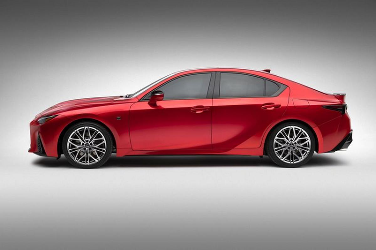 Lexus IS 500 F Sport Performance tu 1,28 ty dong, re hon BMW M3-Hinh-7