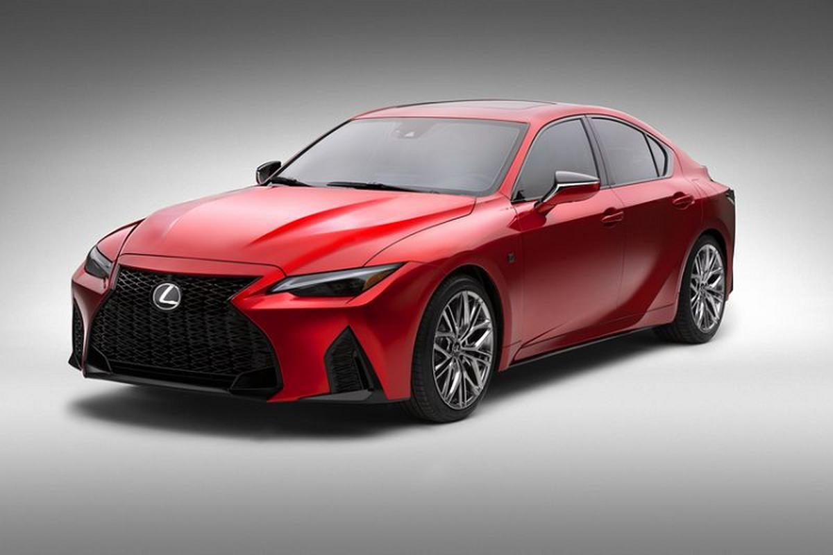 Lexus IS 500 F Sport Performance tu 1,28 ty dong, re hon BMW M3