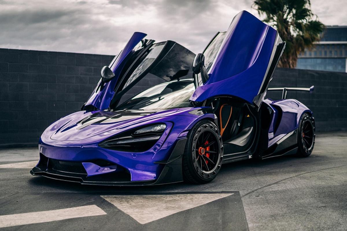 Sieu xe McLaren 720S ban full carbon ban hon 650.000 USD