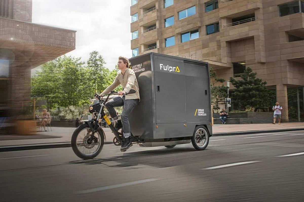 Fulpra L1 Cargo Bike - xe dap dien thong minh cho hang nhu