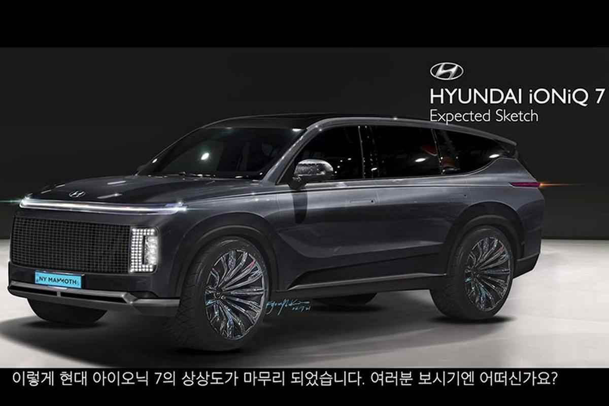 Hyundai Ioniq 7 - SUV thuan dien hang dau cua hang xe Han Quoc