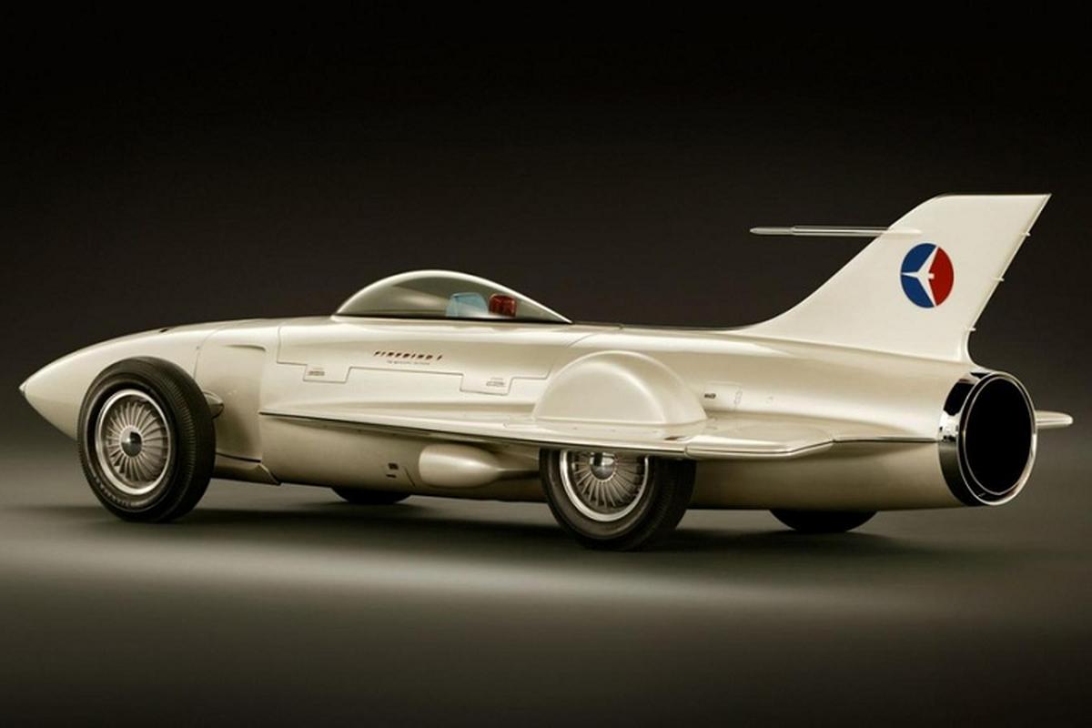 Firebird I XP-21 - mau xe oto may bay dien ro nhat cua GM-Hinh-2
