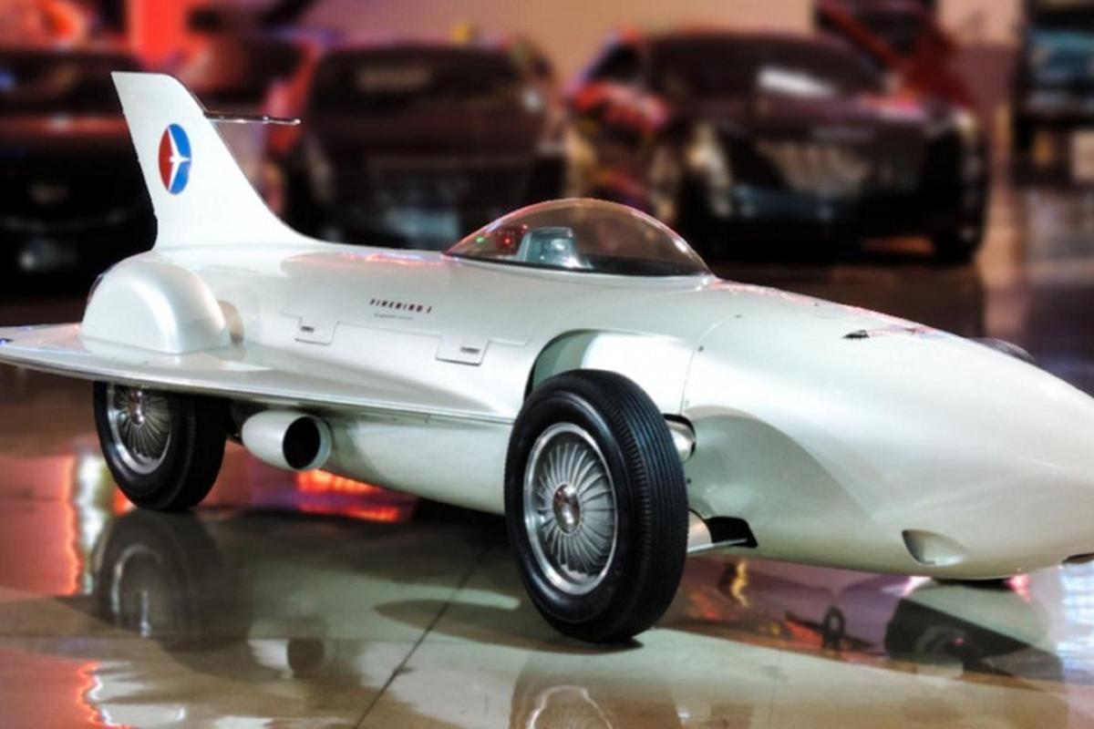 Firebird I XP-21 - mau xe oto may bay dien ro nhat cua GM-Hinh-3