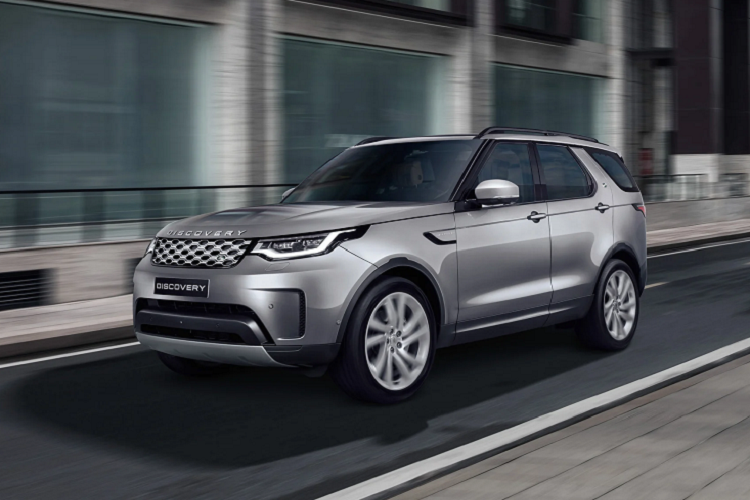 Land Rover Discovery 2021 tu 4,5 ty dong chao hang khach Viet