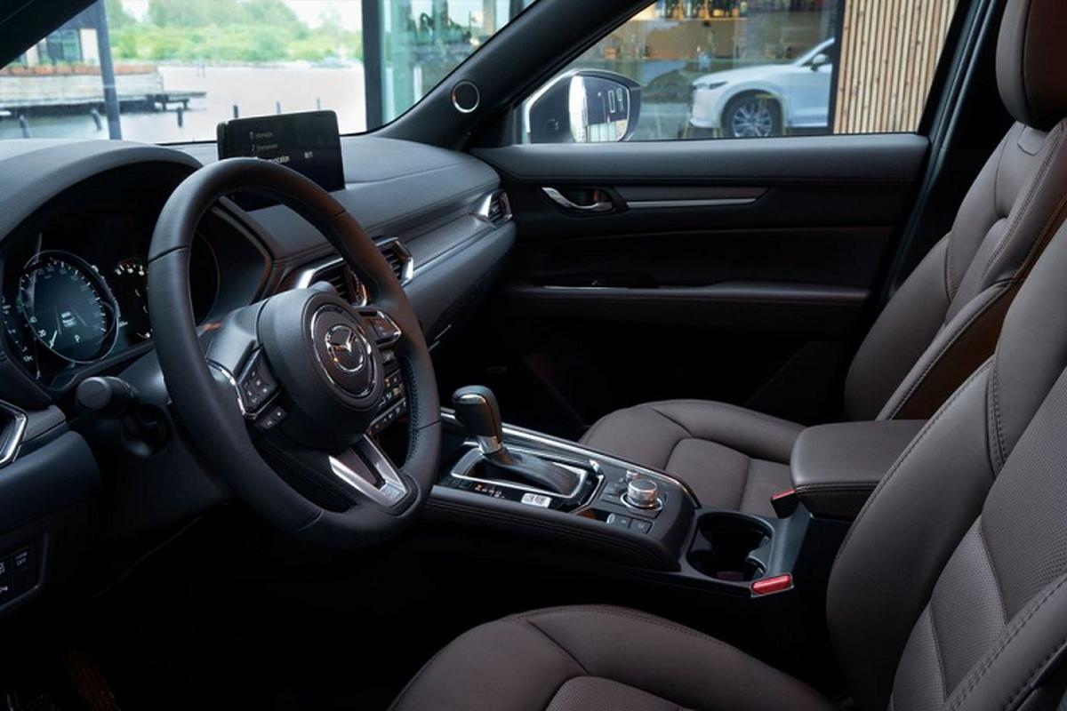 Chi tiet Mazda CX-5 2022 - them he dan dong 4 banh AWD-Hinh-7