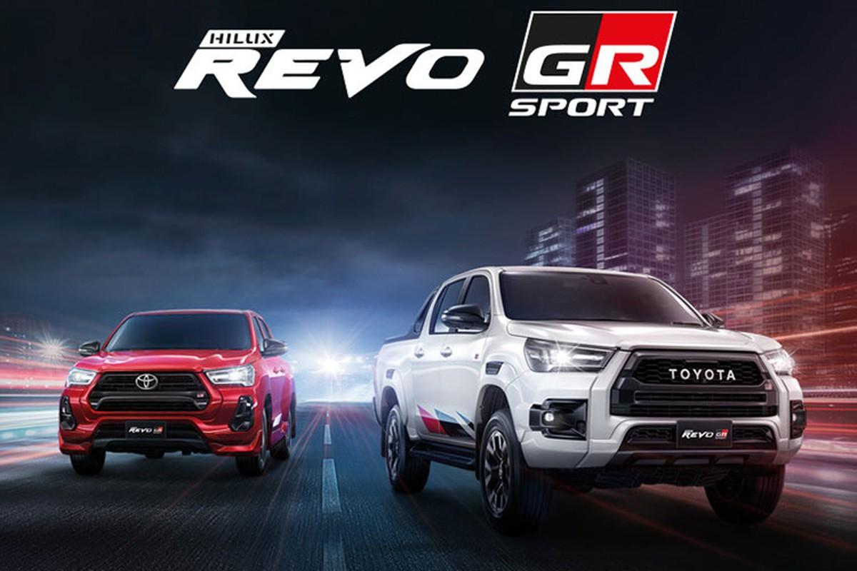 Toyota Hilux Revo GR Sport tu 615 trieu dong, manh nhat phan khuc?-Hinh-2